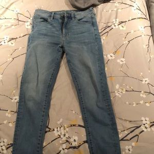 Denim - Brand new light washed American eagle skinny jeans